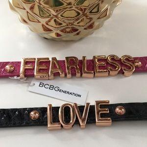 BCBG Affirmation bracelets 💗 Rose Gold